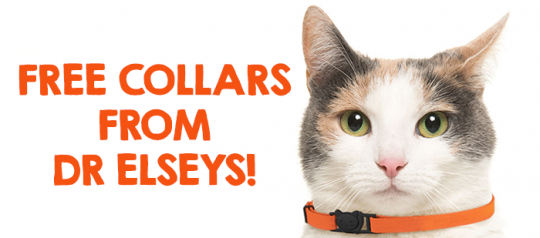 Free Collars and a Year of Free Litter from Dr Elseys