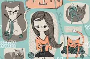 10 Cat Fabrics For Fab Summer Craft Projects